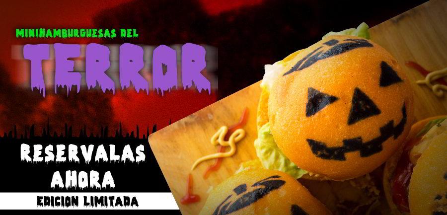 Este Halloween no te quedes sin las Minihamburguesas del Terror