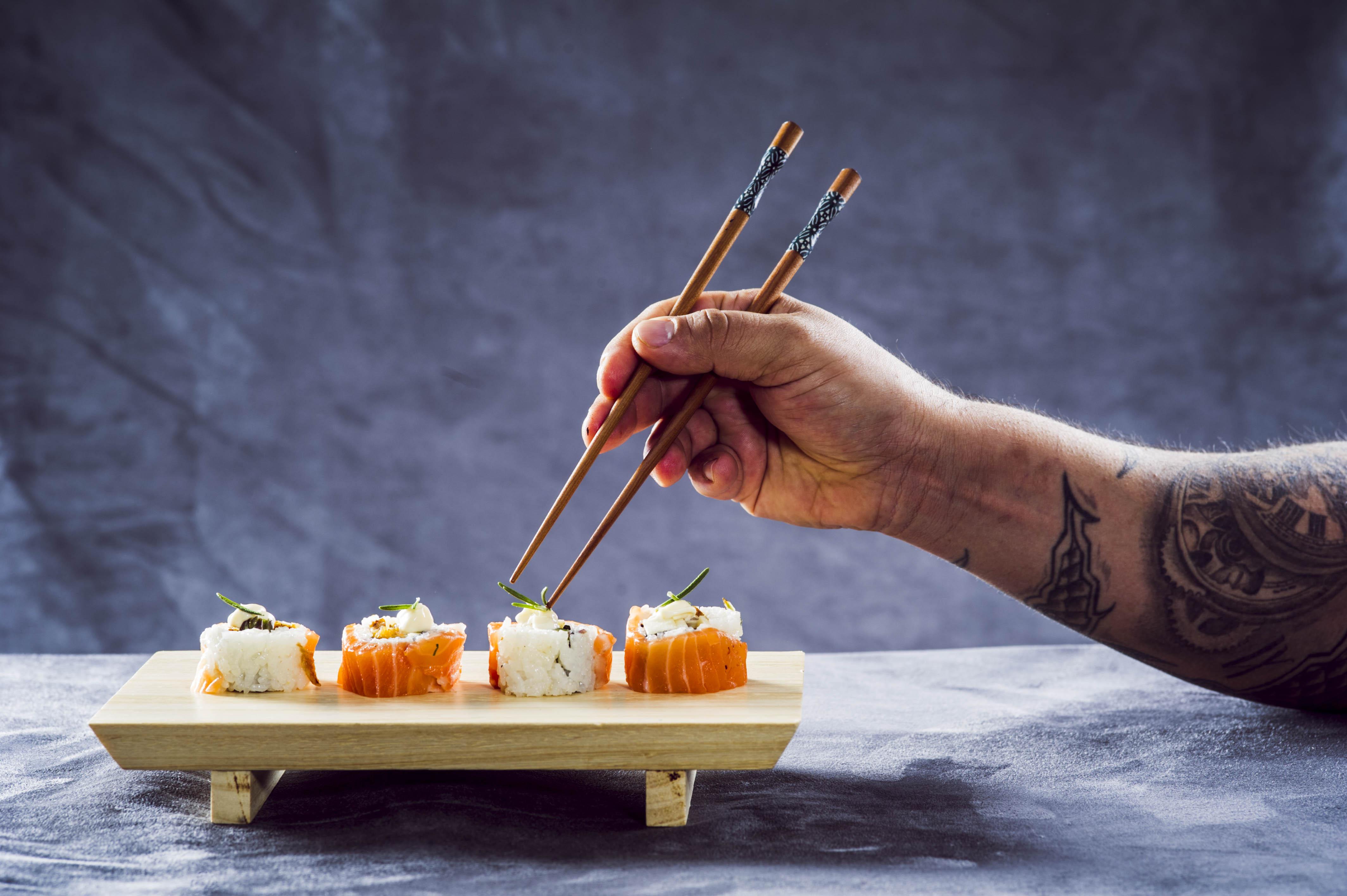 Bandejas Sushi para llevar