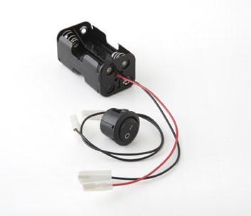 Recambio componente eléctricos (portapilas, interruptor y cable)
