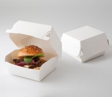 Caja miniatura para hamburguesas