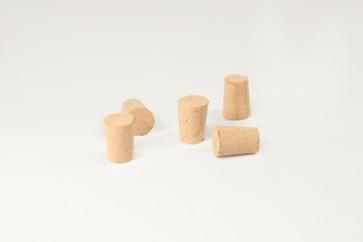 Tapones de corcho (para tubos de Ø16 y Ø18 mm) Caja 200 unid.
