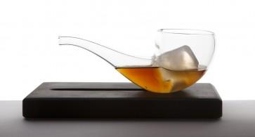 Smoke And drink (pipa + Soporte de marmol)
