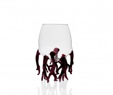 Vaso Coral Rojo