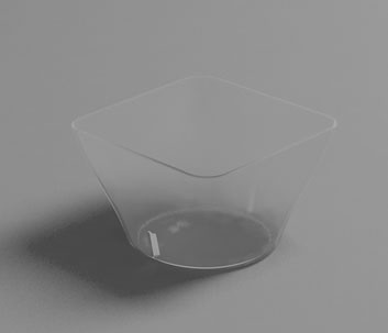 Vaso HOLA 5 cl. Transparente