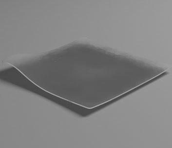Plato llano HOLA transparente (caja 100 unds)