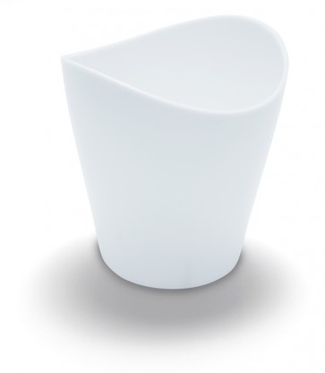 Vaso Sphera 9 cl. Blanco