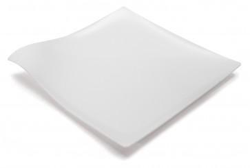 Plato Mini HOLA blanco (Caja 100 unds)