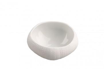 Erizo de porcelana grande