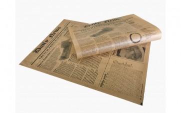 Papel periódico marrón kraft  (Caja 1000 unds)