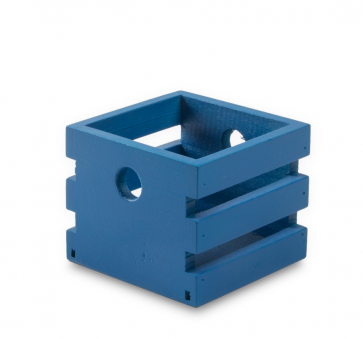 Caja Madrid M Madera azul