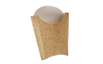 Envase Kraft Patatas Fritas (Caja 50 unds)