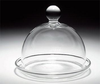 Mini Campana de Vidrio con plato