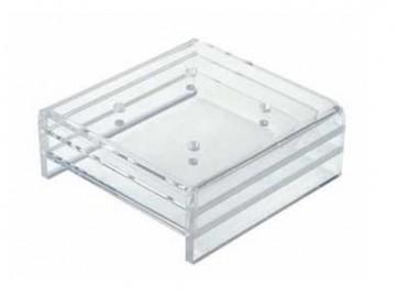 Soporte plexiglass 4 brochetas