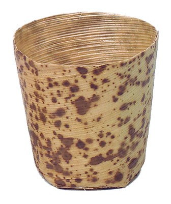 Vaso bambú catering