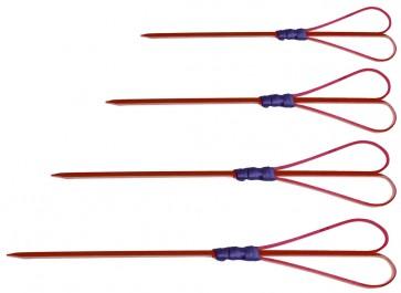 Brocheta Cuore color 120 mm (Bolsa 100 unds.)