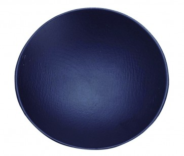 Plato redondo lacado negro mate (Bolsa 10 unds)