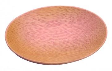 Mini plato ovalado bambú (bolsa 10 unds)