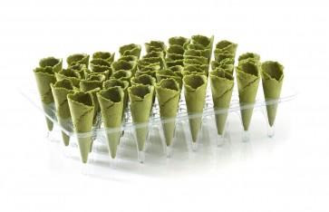 Mini cono sabor espinacas (Caja 90 unds)