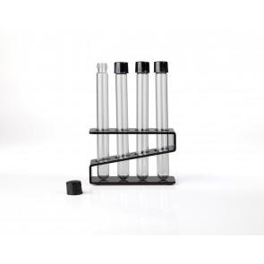 Tubos de ensayo pyrex con rosca Ø16 mm fondo redondo