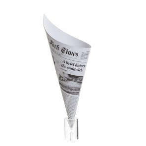 Cono Gigante papel periódico