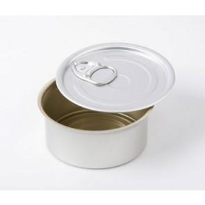 Lata de Conserva Aluminio Redonda con tapa