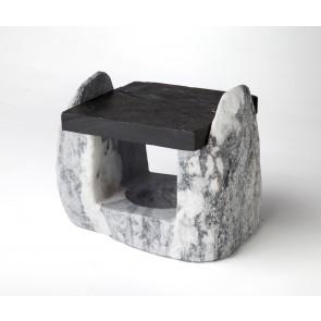 Soporte mármol gris (para ref. CH-170/0001 y 0002)