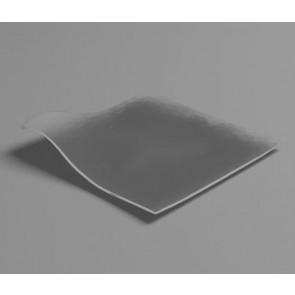 Plato Mini HOLA transparente (Caja 100 unds)