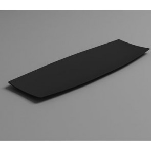 Bandeja individual HOLA negro (Caja 100 unds)