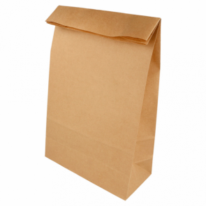Bolsa SOS Kraft sin asas (Caja 500 unds)
