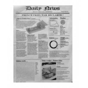 Papel periódico ECO blanco (Caja 1000 unds)