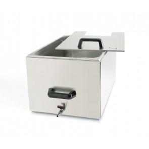 Container térmico 27 litros inox con tapa