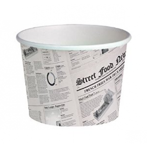 Tarrina Deli Diseño Periódico XL