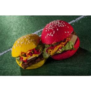 Caja MiniHamburguesas de LA ROJA