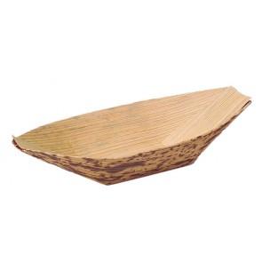 Barquita de Bambú grande (Caja 100 unds)