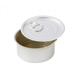 Lata de Conserva Aluminio Redonda con tapa (caja 10 unid.)