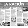 """Papel Periódico """"La Ración"""" (500 unds)"""