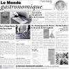"""Papel Periódico """"Le Monde Gastronomique"""" (500 unds)"""