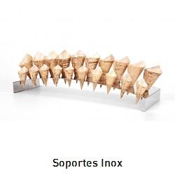 Soportes inox