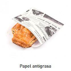Papel de periódico antigrasa para catering