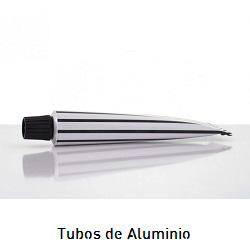 Tubos de aluminio para catering