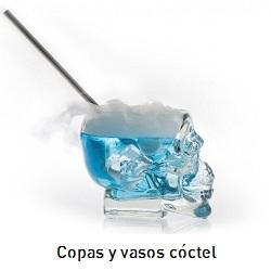 Copas y vasos cóctel